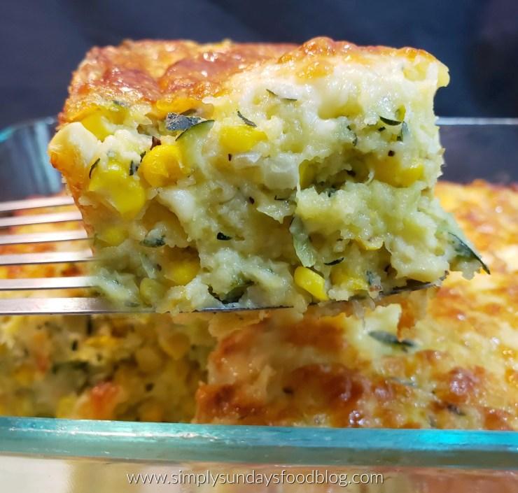 Zucchini Cornbread Casserole IG FB