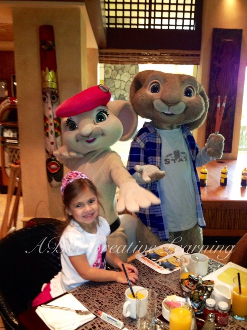 Character Breakfast at Loews Royal Pacific Resort with Hop - simplytodaylife.com