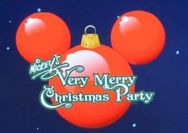 Mickeys Very Merry Christmas Party 2013