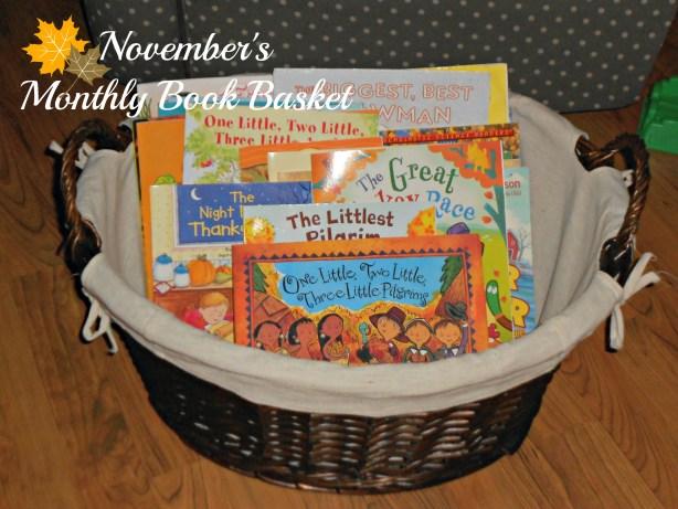 Novembers Book Basket