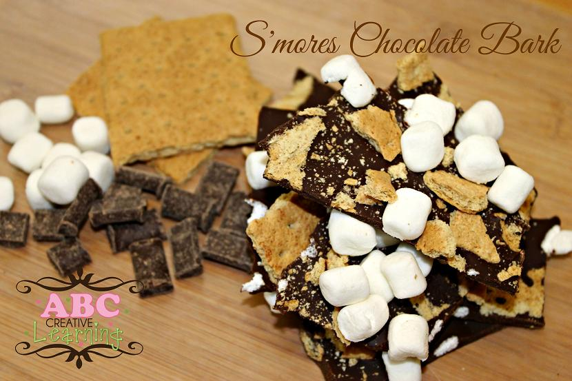 Allergy Safe S'mores Chocolate Bark