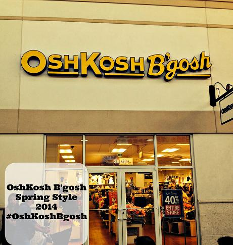 OshKosh Bgosh Spring Fashion