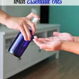 DIY Natural Hand Sanitizer Spray with Essential Oils