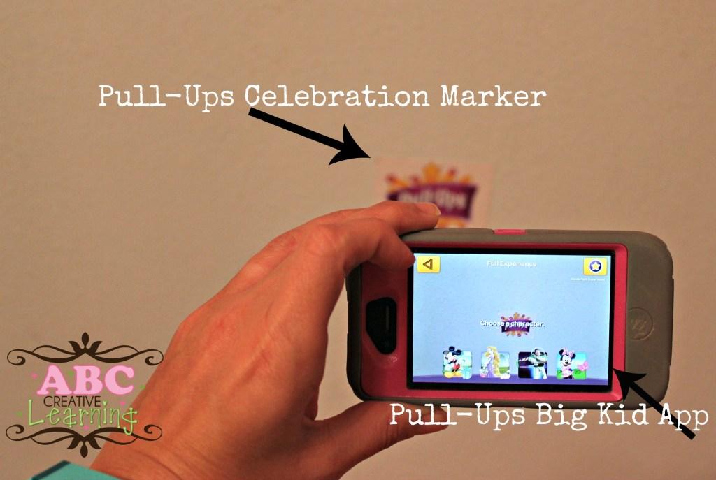 Pull Ups Big Kid Marker and App