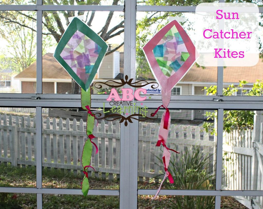 Sun Catcher Kites Kid Crafts