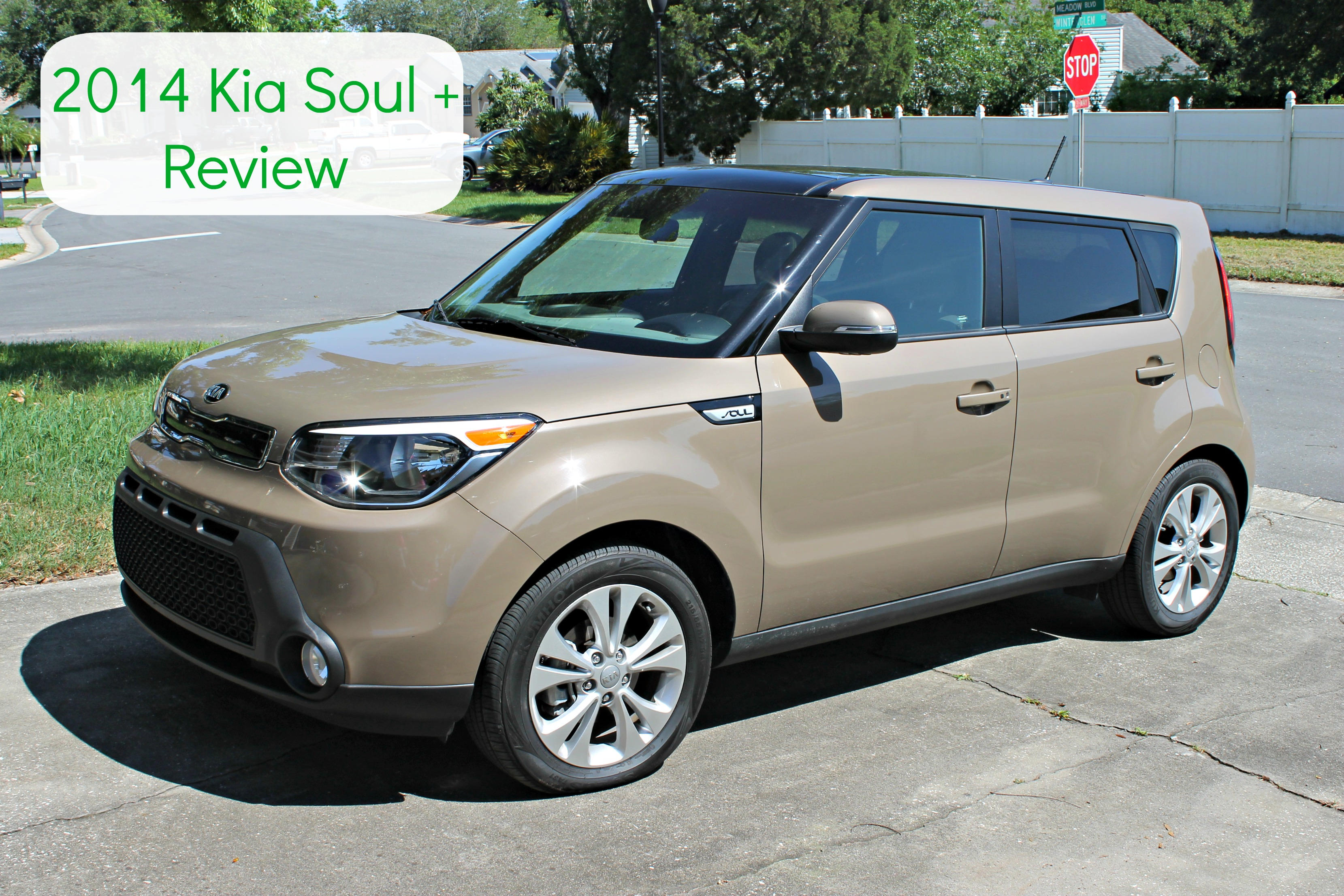 Driving In The 2014 Kia Soul+ | Family Friendly Car Review