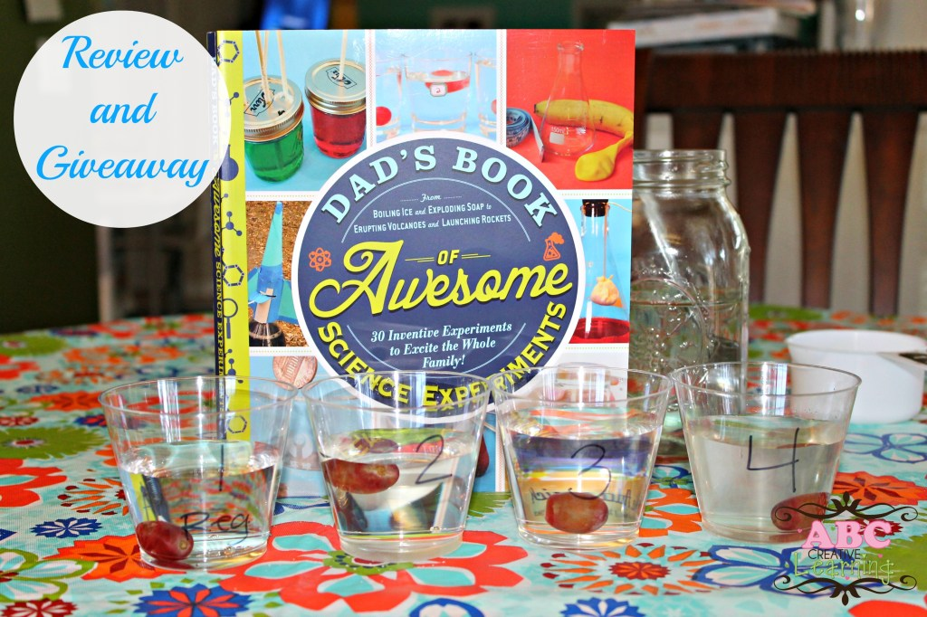 Dad's Book of Awesome Science Experiments Review