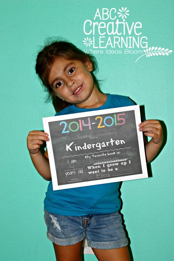 2014-2015 Kindergarten