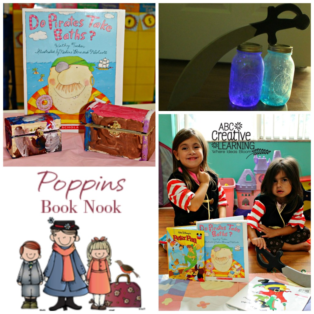 Pirate Theme Book Activities Poppins Book Nook July