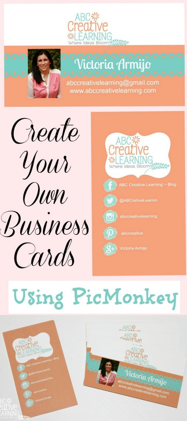 Easily Create Your Own Business Cards Using PicMonkey - simplytodaylife.com