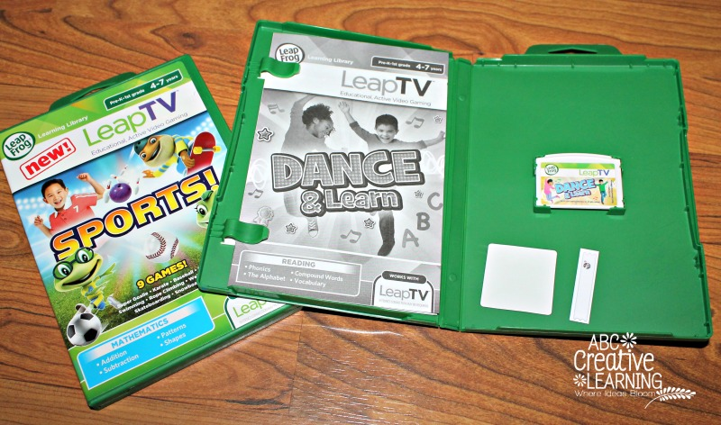 LeapTV Sports and Dance & Learn Games
