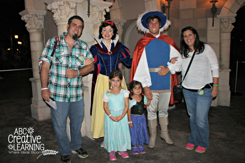 Mickey's Very Merry Christmas Party with Snow White and Prince Charming