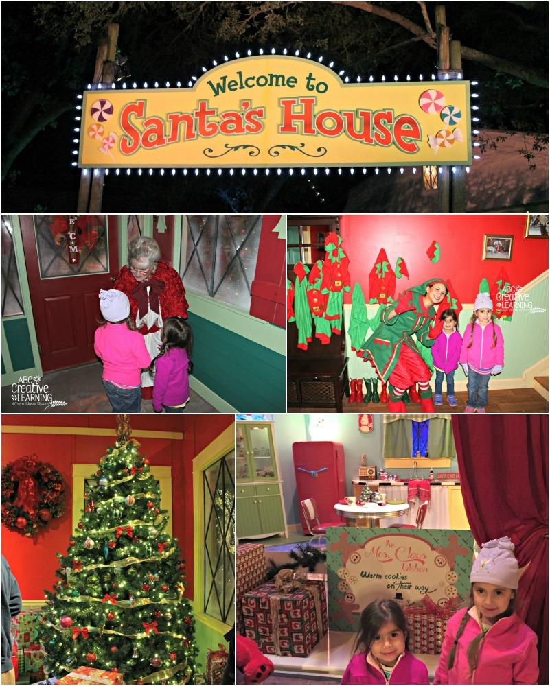 Busch Gardens Christmas Town Santa's House