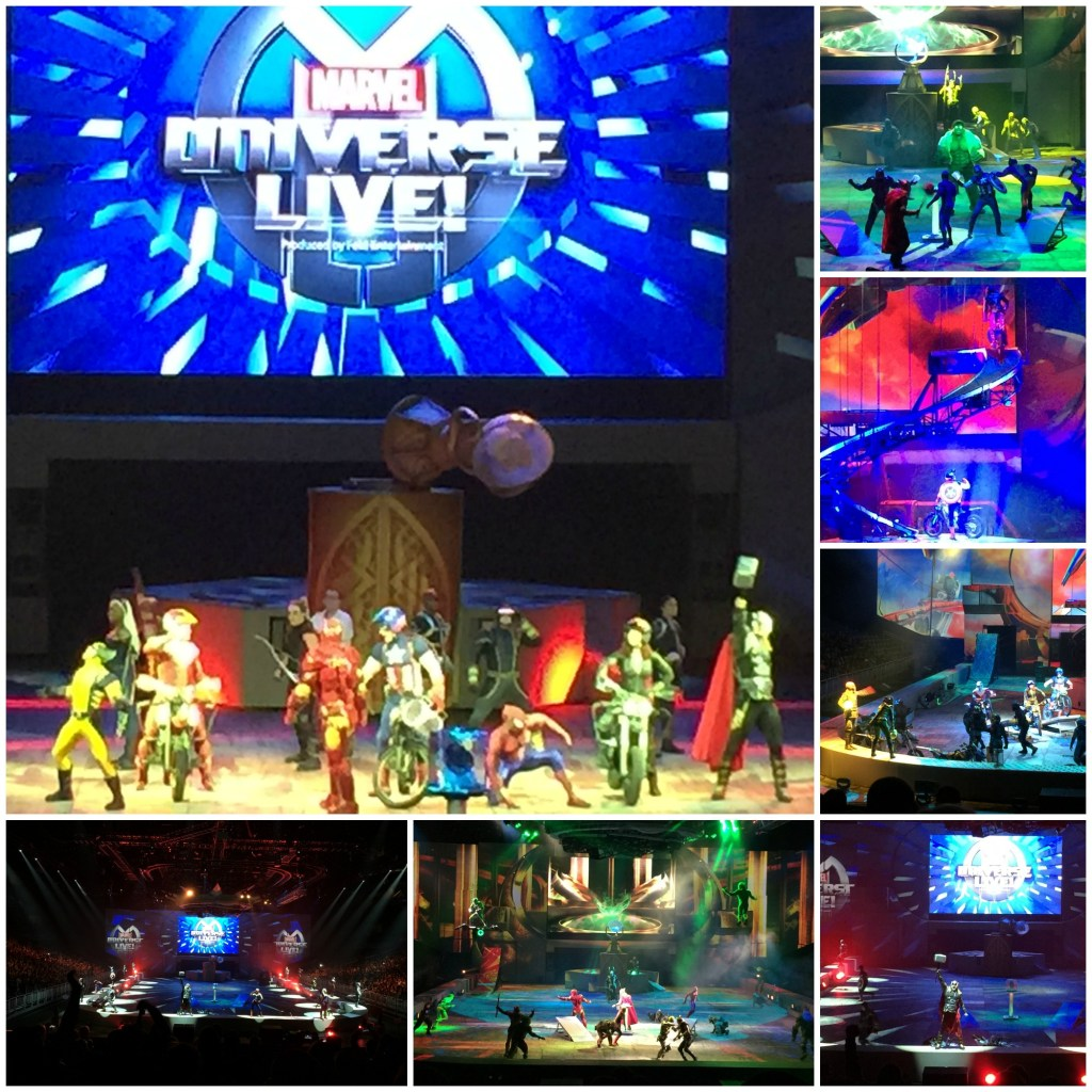 Marvel Universe Live Ending Highlights of the show