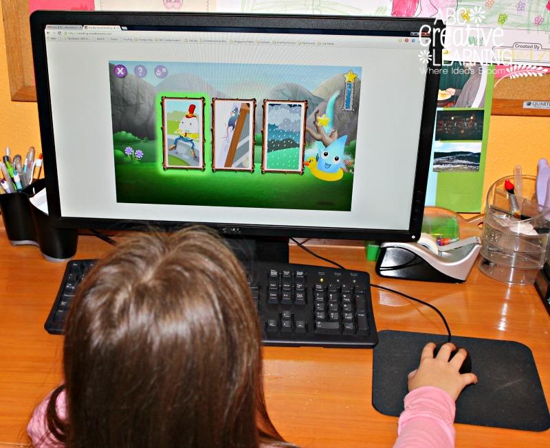 Rosetta Stone Kids Reading Program for Kindergartners
