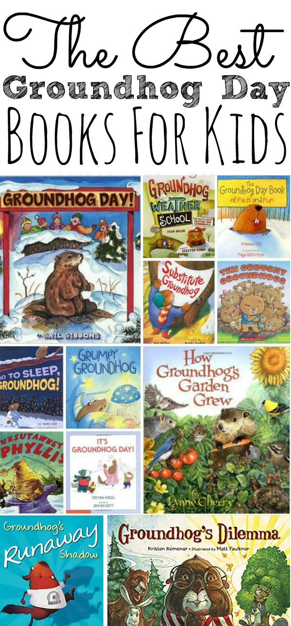 Best Kids Books For Groundhog Day