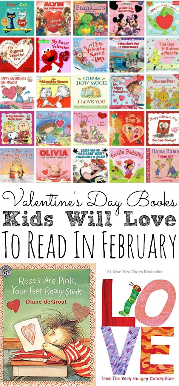 A list of our favorite 25+ Valentine Day Books for Kids! Perfect for home, classroom, preschool, and elementary school kids! Plus, a list of our favorite Disney Valentine Day Books! - simplytodaylife.com #valentinesday #valentinesdaybooks #kidsbooks #valentinebooks #readinglist #celebreatingvalentinesday #booksforkids #readingbooks #kids