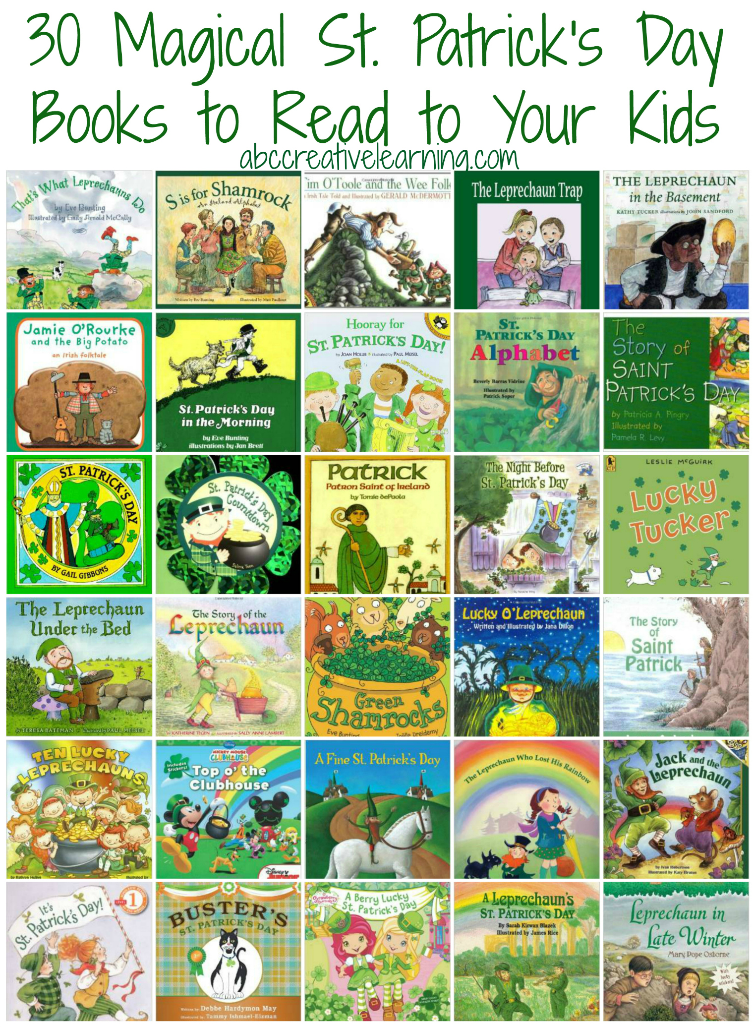 30 Magical St Patrick S Day Books To Read To Your Kids