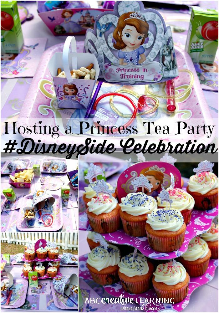 Princess Tea Party #DisneySide Celebration Main