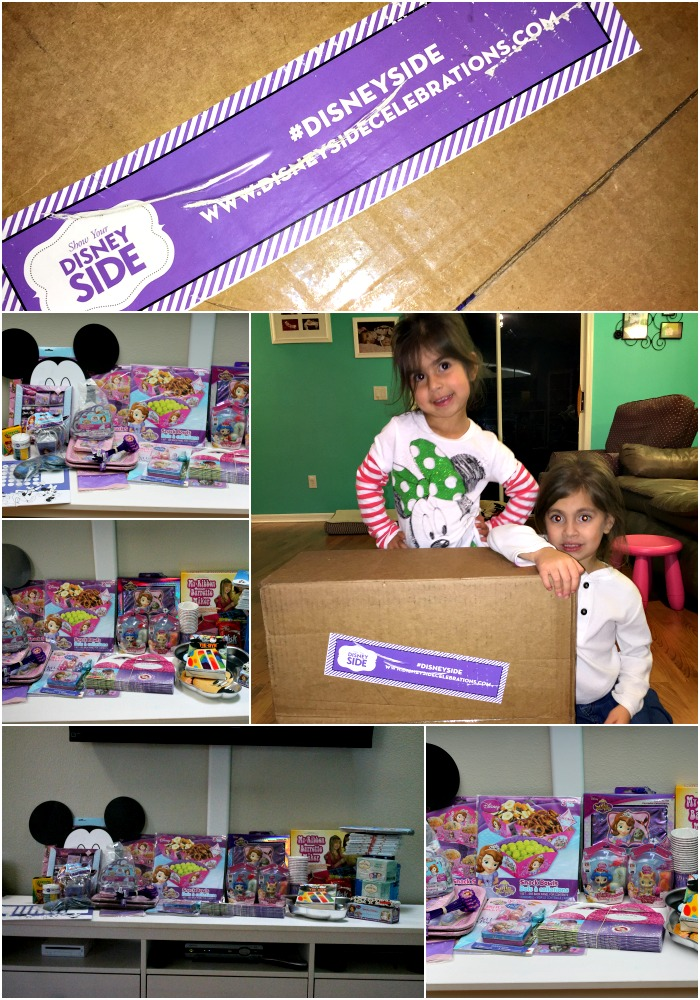Hosting a Princess Tea Party #DisneySide Celebration Supplies