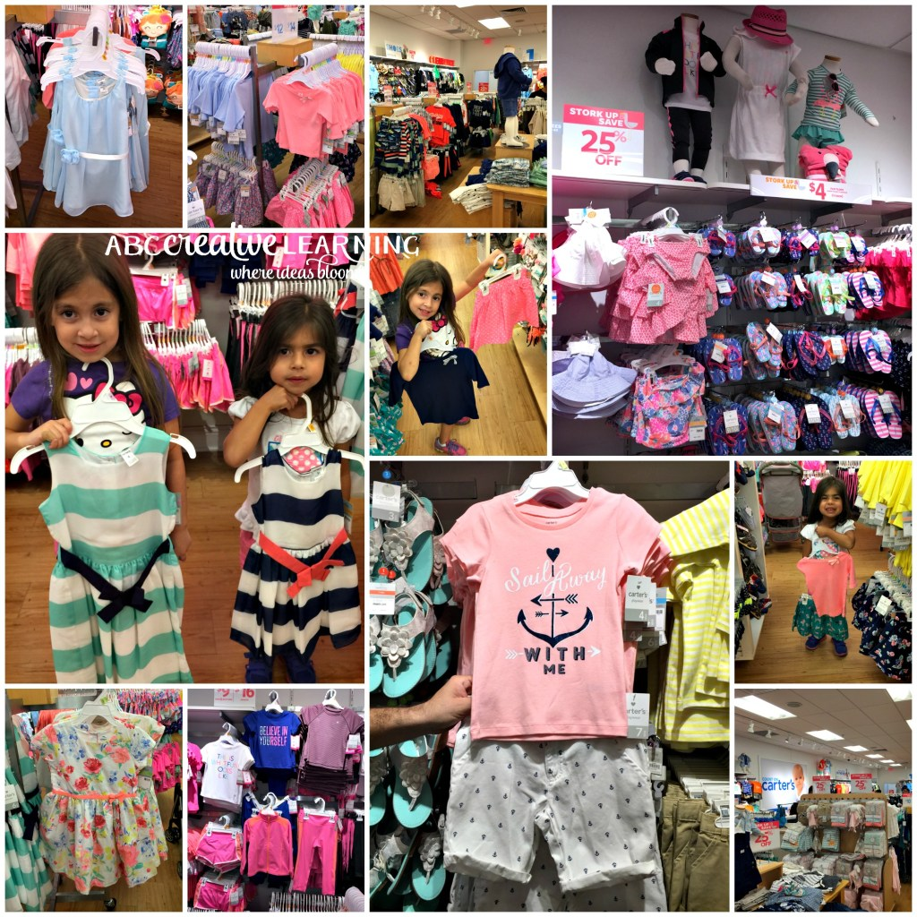 Ready for Spring with Carter's #SpringIntoCarters Store Location