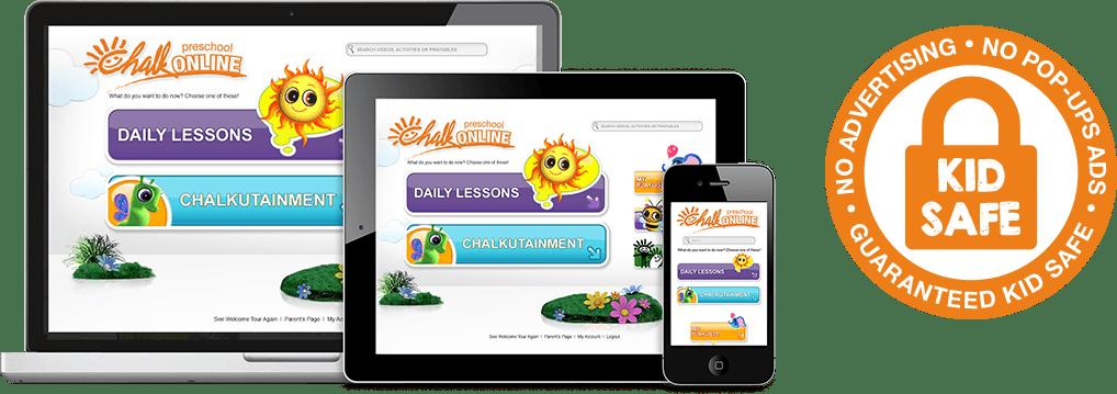 5 Reasons We Love CHALK Preschool Plus a Giveaway Kid Safe Content