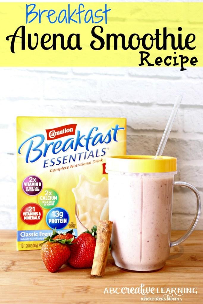 Breakfast Avena Smoothie Recipe