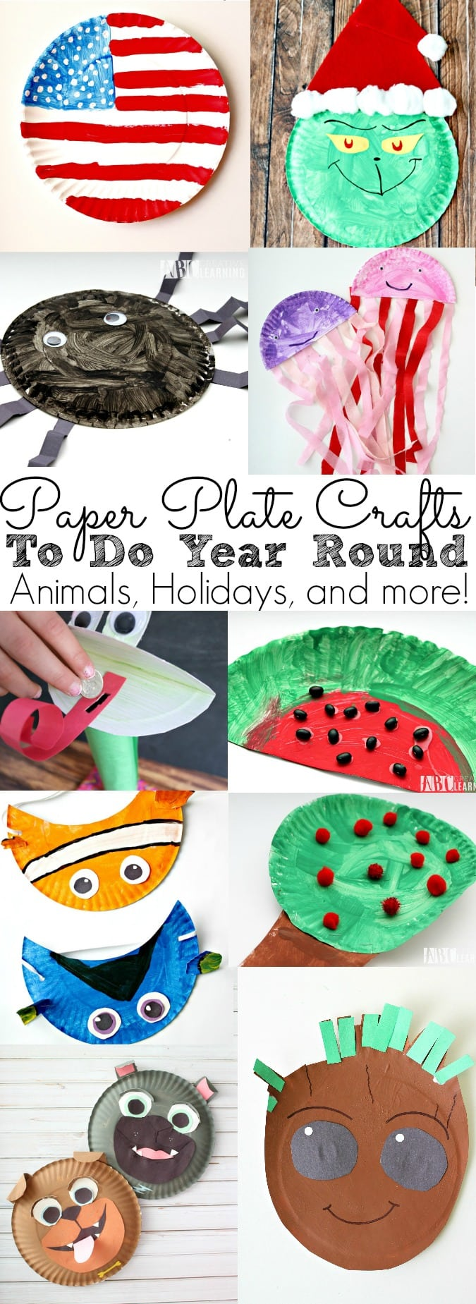 Looking to create some fun paper plate crafts? Check out my Paper Plate Crafts To Do Year Round List! Filled with Animals, holidays, seasons, Disney inspired movies and more! Perfect for decorating classrooms and fun at home! - simplytodaylife.com