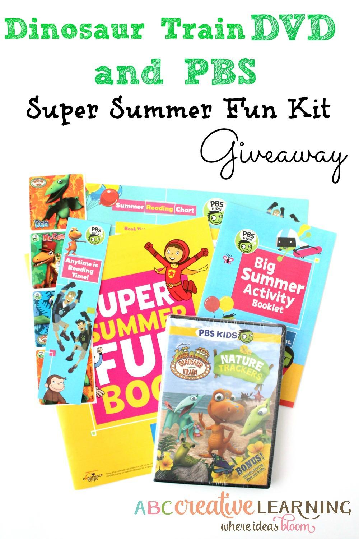 Dinosaur Train DVD and PBS Super Summer Fun Kit Giveaway