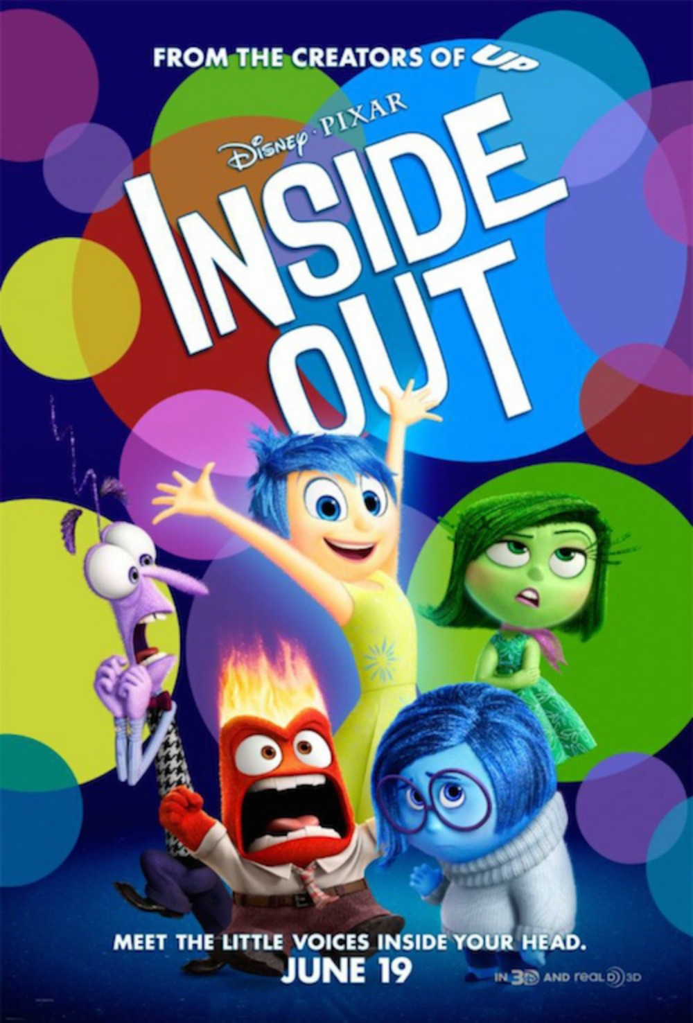 Disney Pixar Inside Out Movie Review