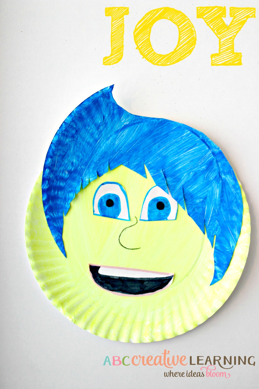 Inside Out Paper Plate Craft For Kids Simply Today Life