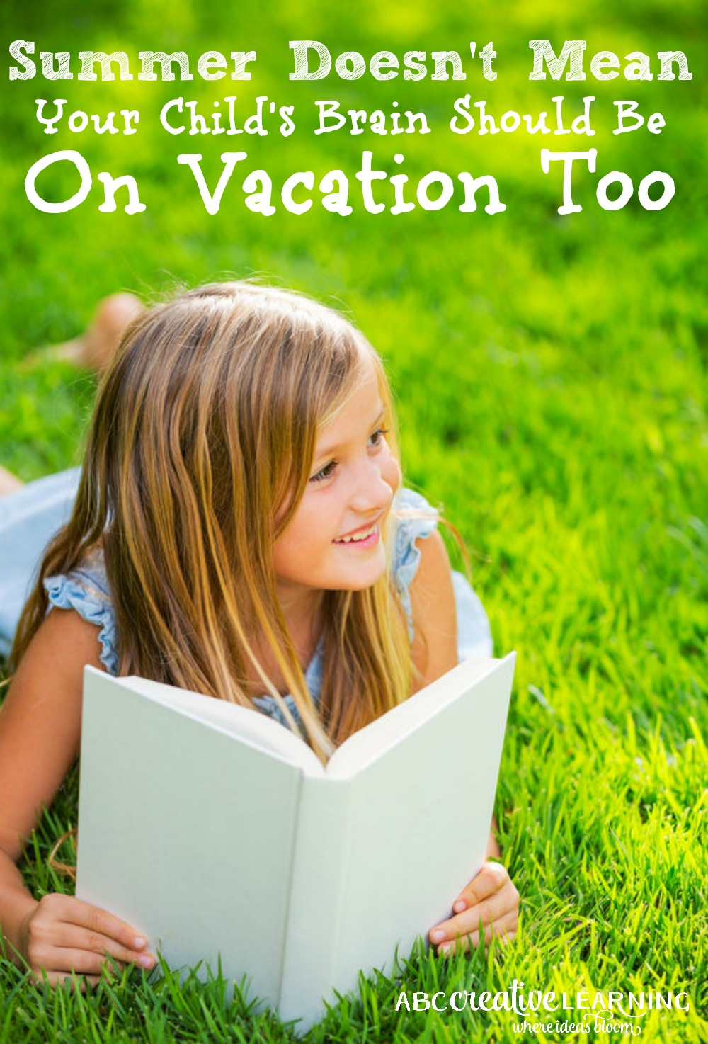 Summer Doesn't Mean Your Child's Brain Should Be On Vacation Too! Check out some of these easy tips to keep your child from falling behind this summer!