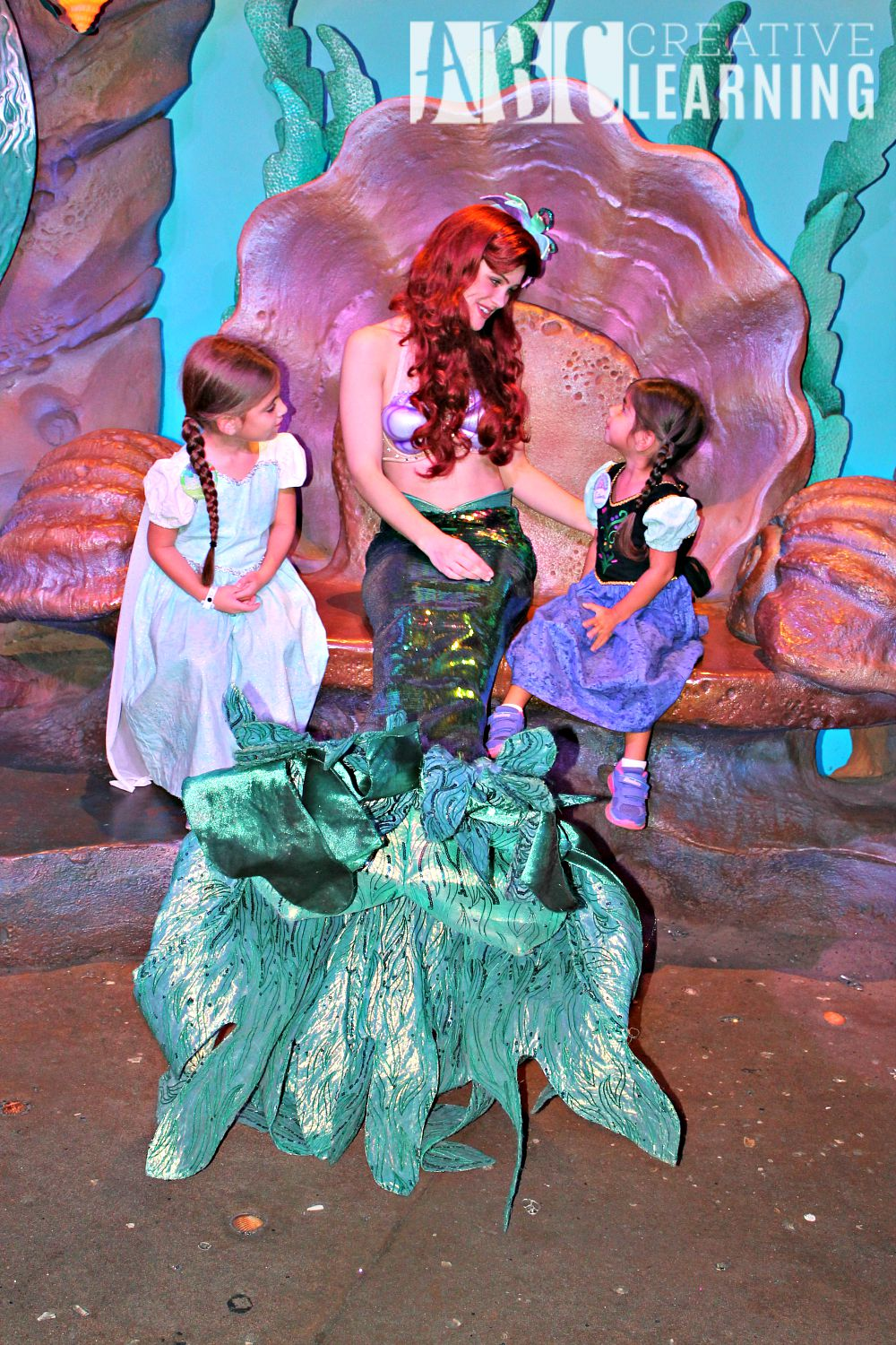 Tips and Tricks When Visiting Walt Disney World with Kids Ariel