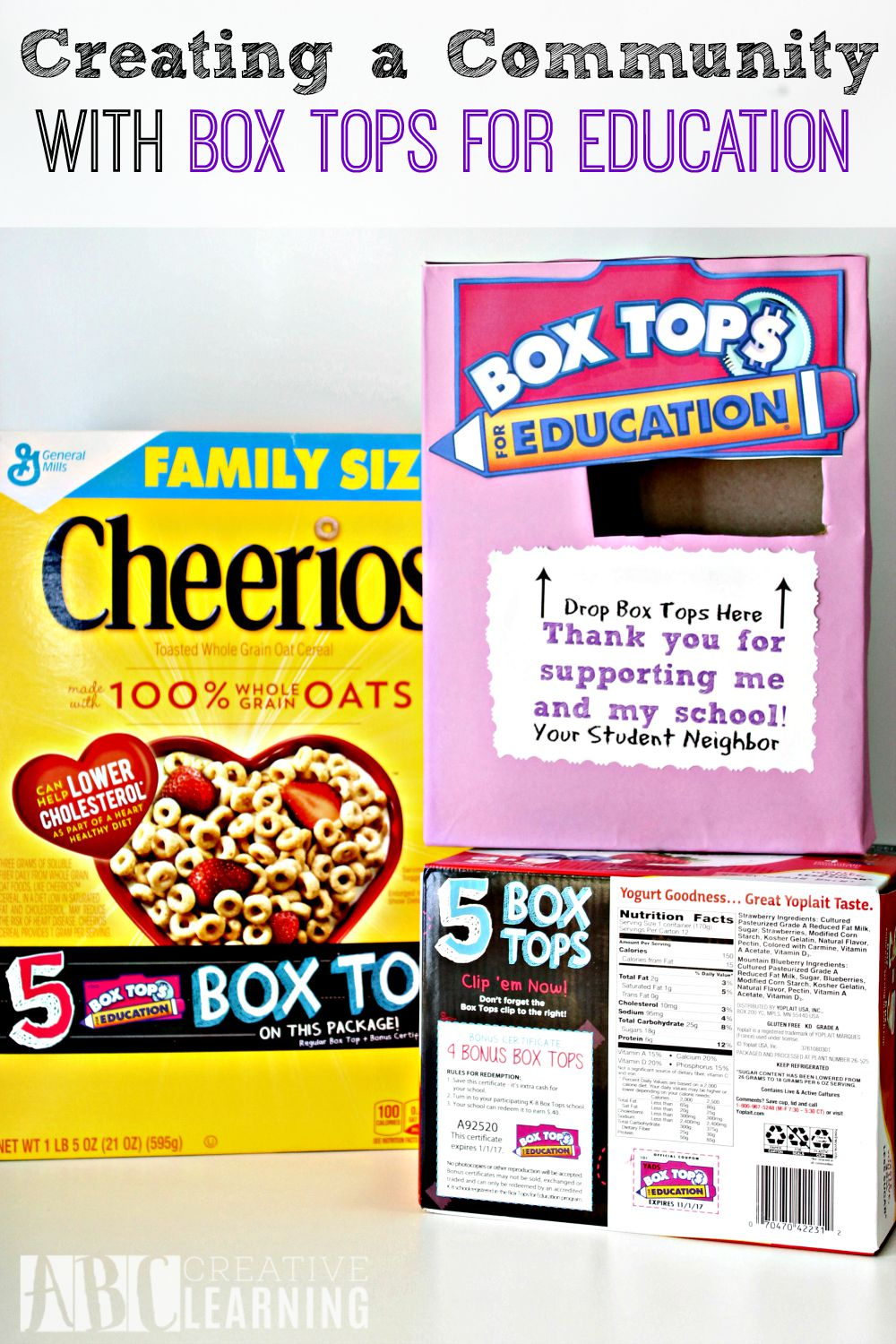 Creating a Community with Box Tops for Education