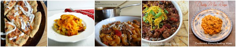 Family Friendly Recipes Lunch Dinner