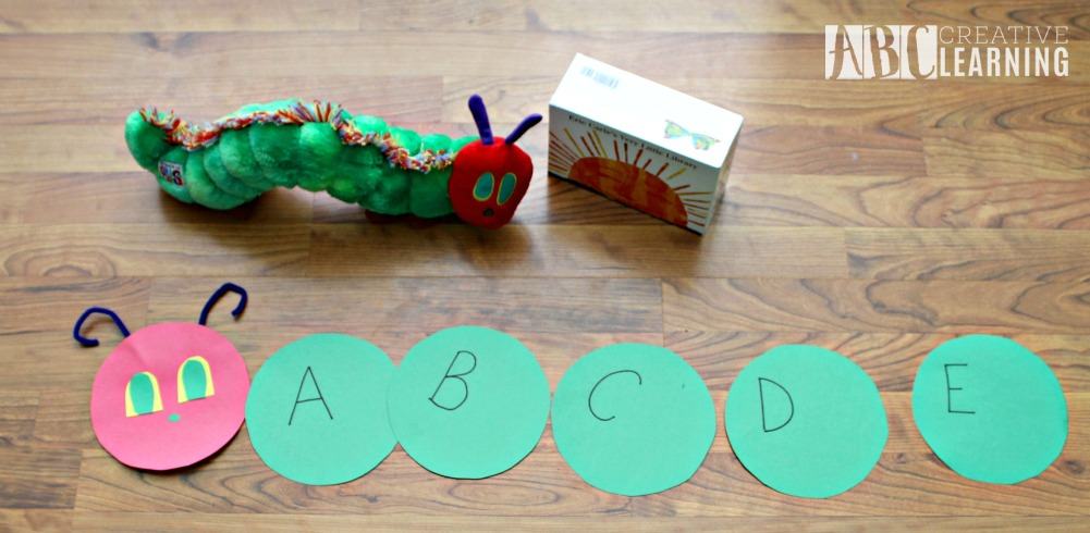 Alphabet Activity Inspired by The Very Hungry Caterpillar + Giveaway Letter Activity