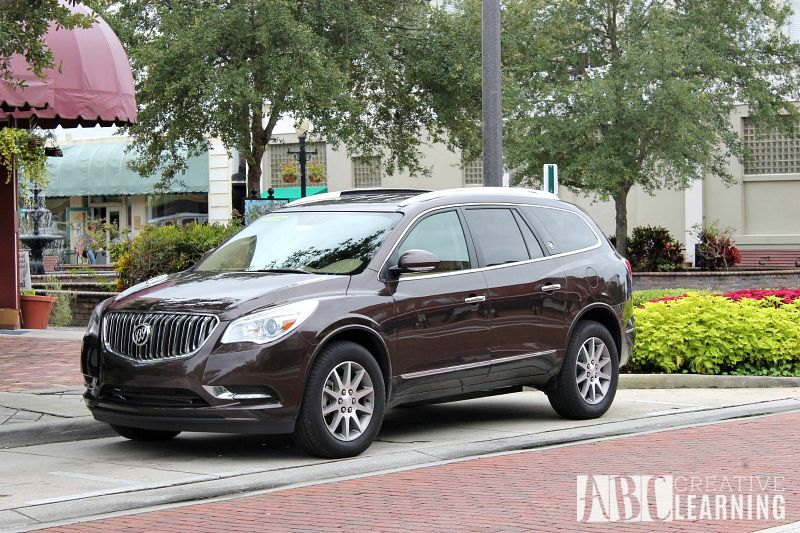 Buick 24 Hours of Happiness Test Drive with the 2015 Enclave Moccachino
