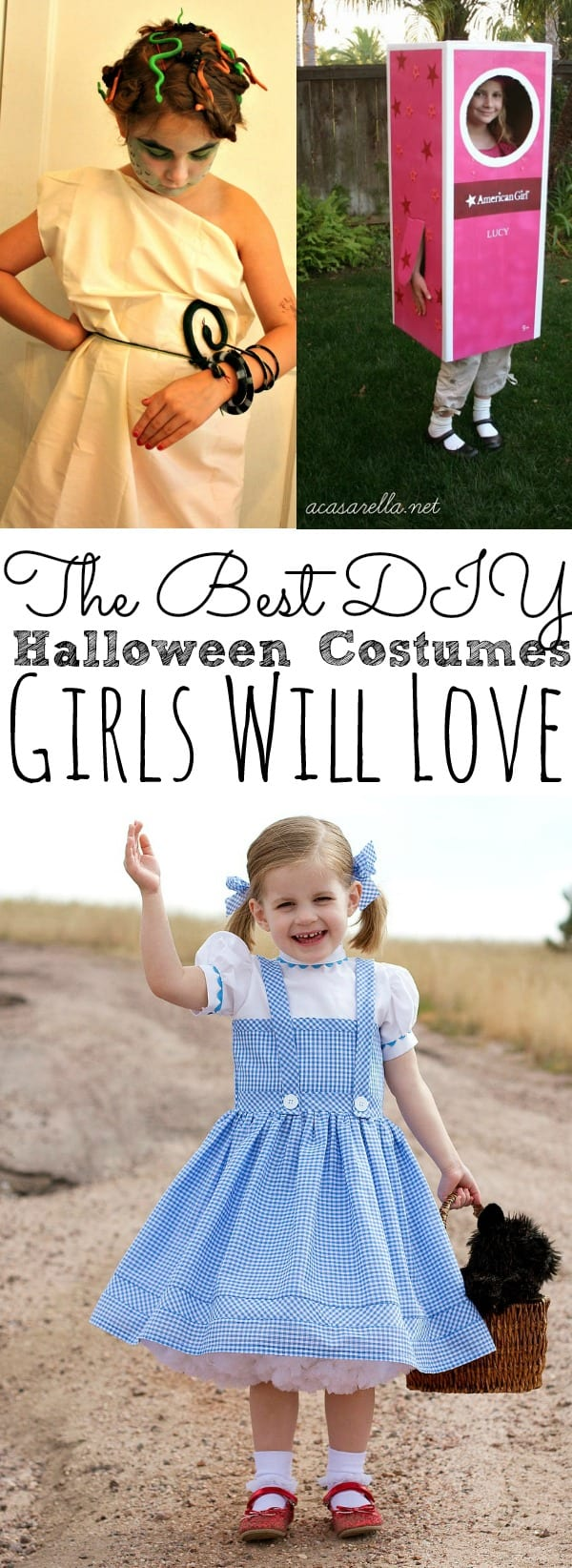 DIY Halloween Costumes For Girls