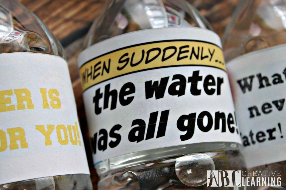 Keeping Kids Hydrated in School + Free Printable Label