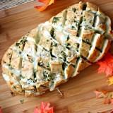 Easy Cheesy Garlic Pull Apart Bread