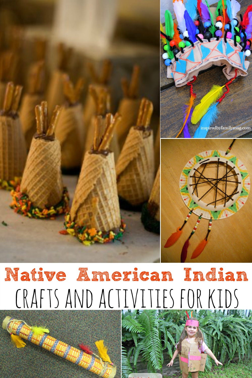 Native American Indian Crafts And Activities For Kids
