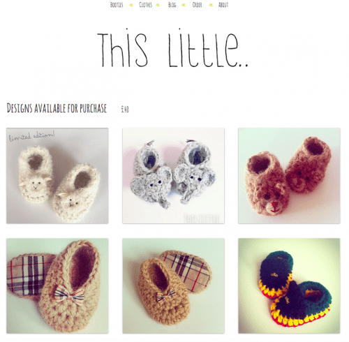 The website: 'thislittle.boutique'