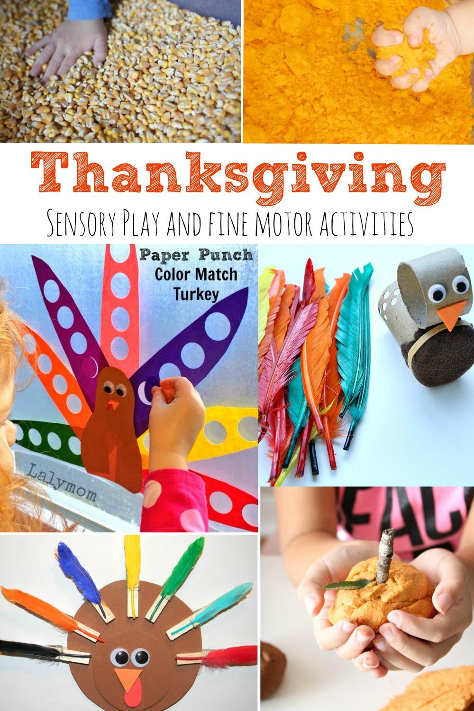 Thanksgiving Sensory Play