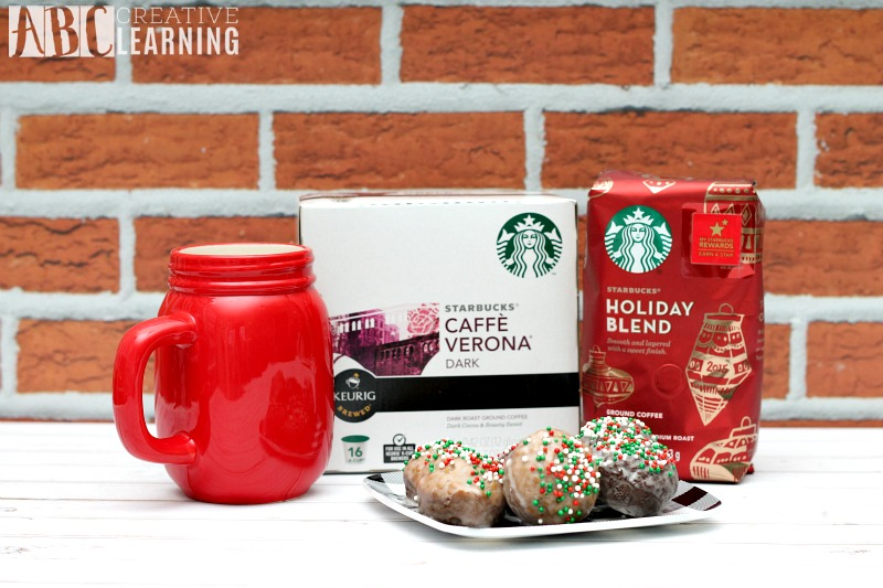 Gingerbread and Chocolate Glazed Donut Holes Starbucks
