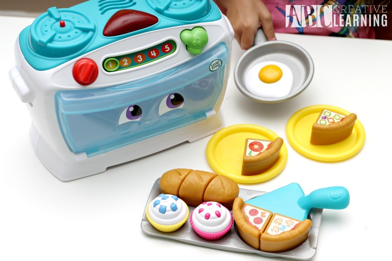 Learning Through Play with the LeapFrog Number Lovin' Oven pieces
