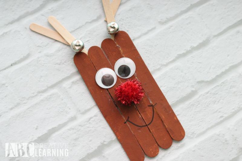 Reindeer Popsicle Craft Rudolph