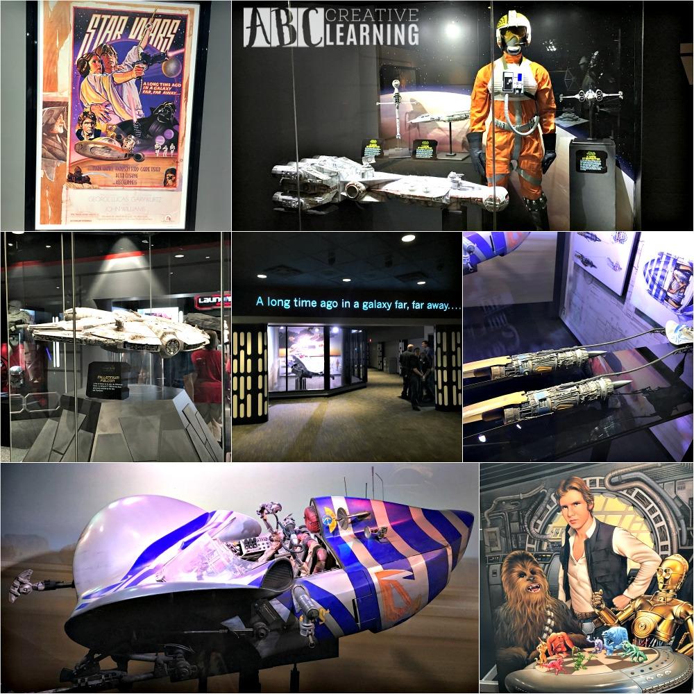 Star Wars Launch Bay at Hollywood Studios Memorabilia