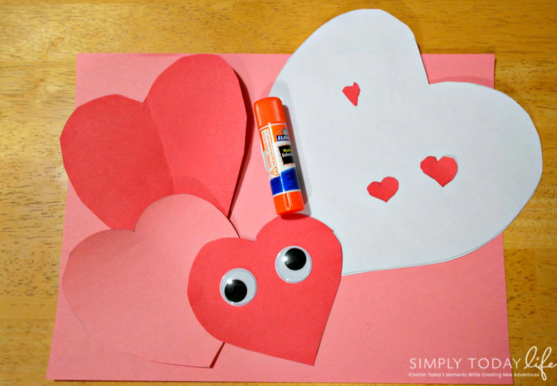 Valentine's Day Owl Heart Card for Kids