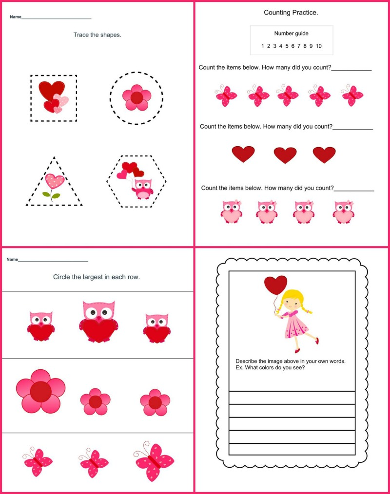 Valentine's Day Theme Pack Samples2
