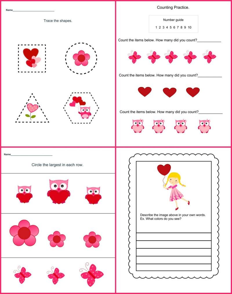 Valentine's Day Theme Pack Samples2